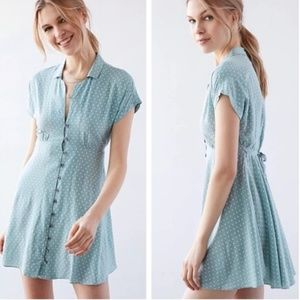 Urban Outfitters Kimchi Blue Button Down Dress